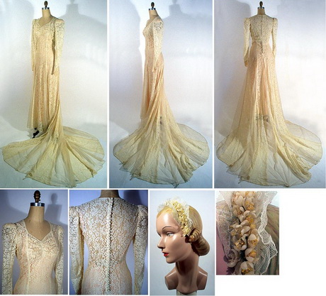 Vintage wedding dresses chicago discount wedding dresses for Antique inspired wedding dresses