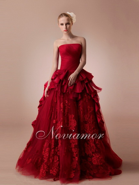 Ruby Red Dresses