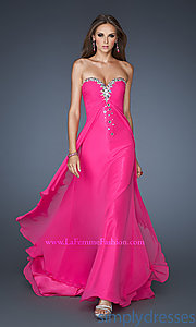 Buy Long Strapless Sweetheart Formal Gown at SimplyDresses