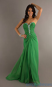 Buy Floor Length Strapless Alyce Dress at SimplyDresses