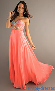 Buy Floor Length Strapless Sweetheart Dress at SimplyDresses
