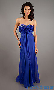 Buy Long Sweetheart A-Line Chiffon Dress at SimplyDresses