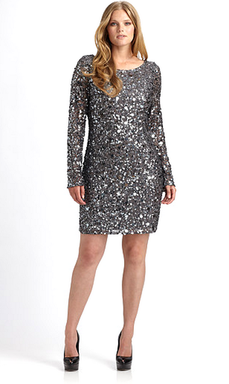 Sequin Plus Size Dresses