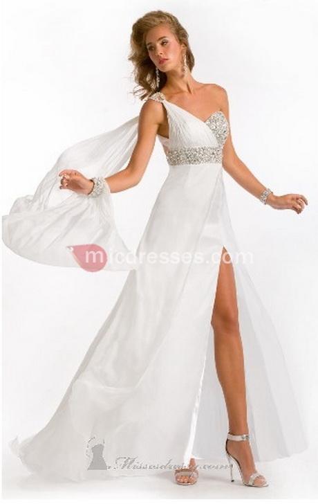 White Sexy Prom Dresses 17
