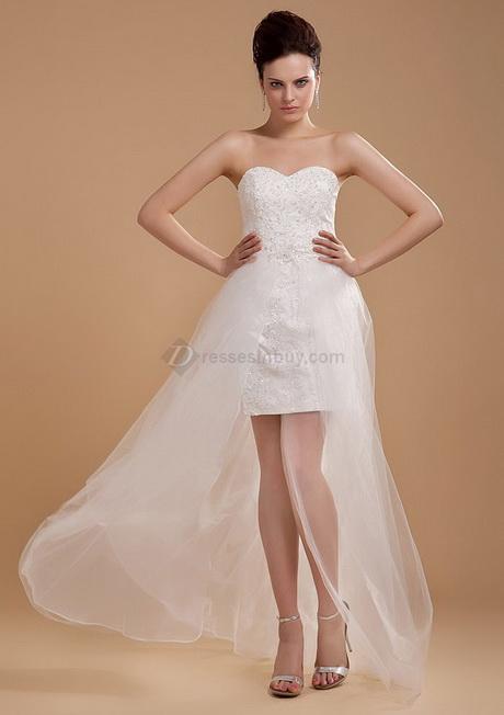 Short bridal reception dresses for Brides dress for wedding reception