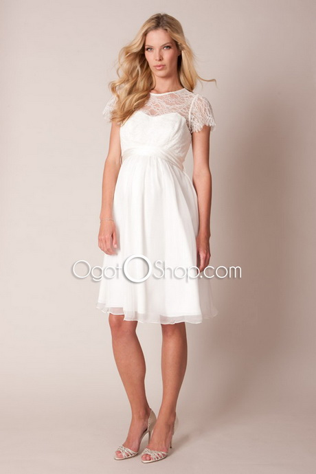 Short maternity wedding dresses