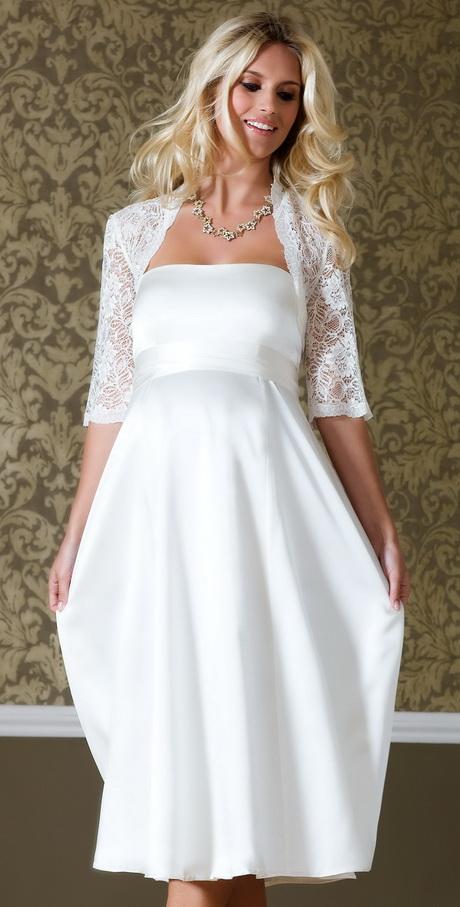 Maternity Short wedding dresses