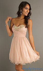 Buy Short Strapless Sweetheart Dress at SimplyDresses