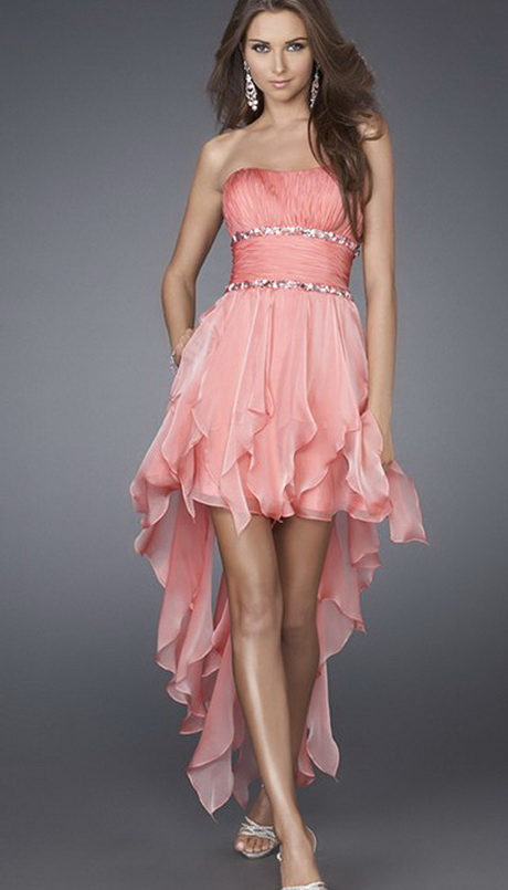 Short Pink Party Dresses 8