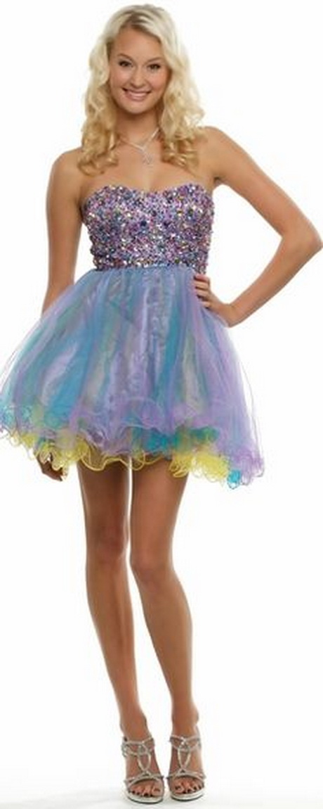 Short Poofy Dresses For Prom 105