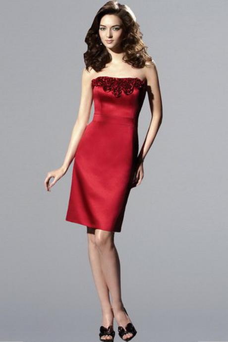 Short red bridesmaid dresses for Short red wedding dresses