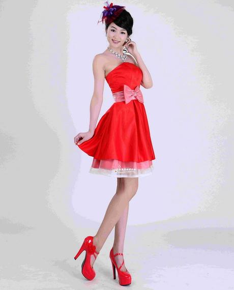 Short Red Wedding Dresses  : Short red wedding dresses