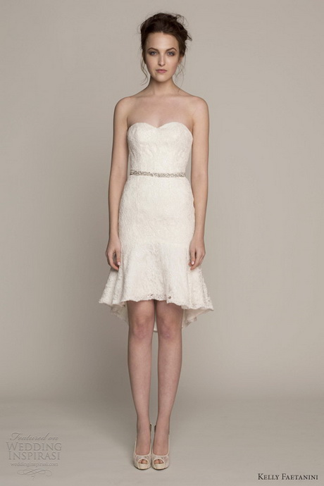 Short wedding dresses 2014 for Short spring wedding dresses