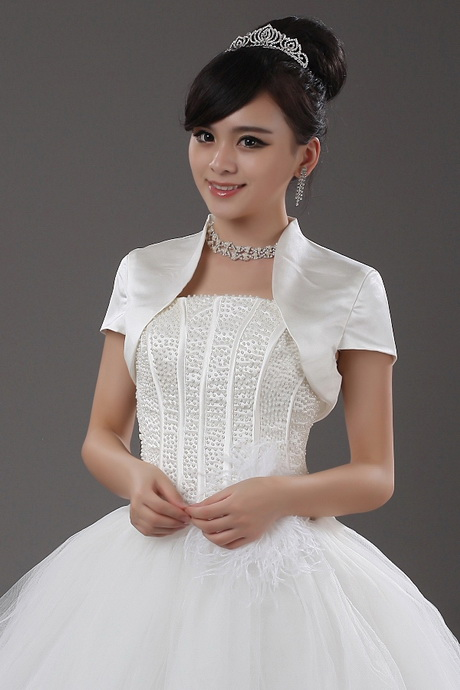 Shrugs for wedding dresses for Wedding dress with shrug