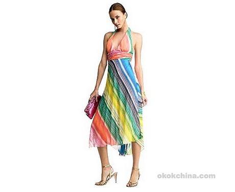 Silk summer dresses