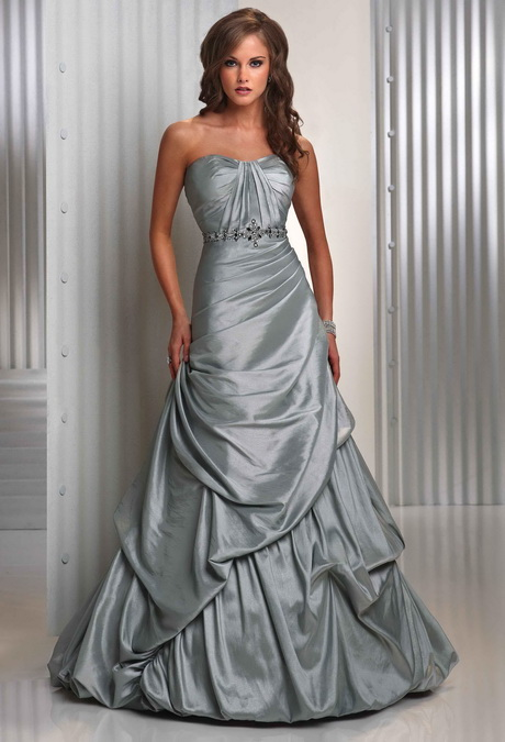 Silver wedding dresses for Dresses for silver wedding anniversary