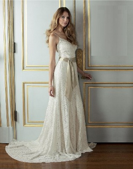Simple vintage lace wedding dresses for Cheap vintage style wedding dresses