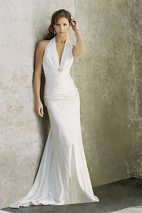 Simple wedding gowns for Simple modern wedding dress
