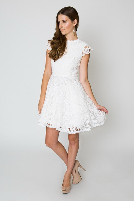 Simple white dresses for White dress after wedding