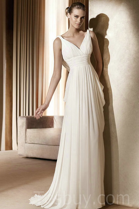 Simple white dresses for Simple white wedding dress