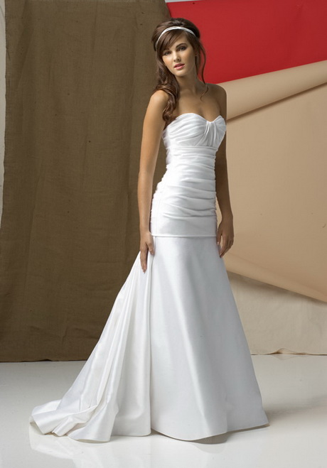 Simple white wedding dress for Simple white wedding dress