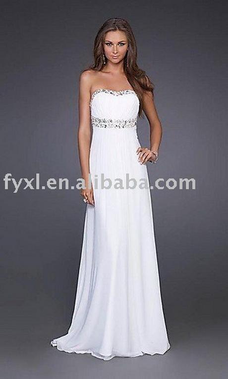 White Simple Wedding Dresses 102