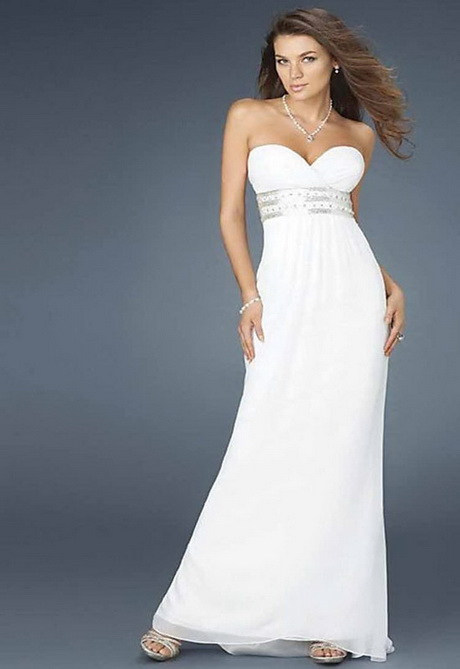 Simple white wedding dress for White elegant wedding dresses