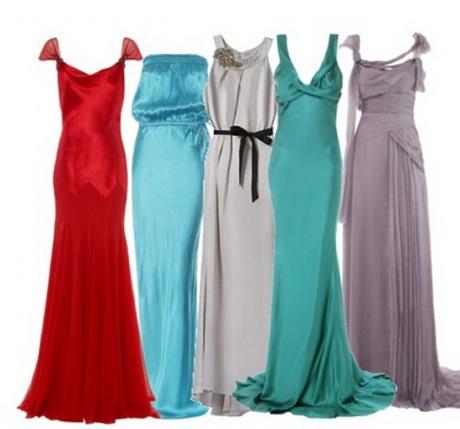 платья длинные с руковами