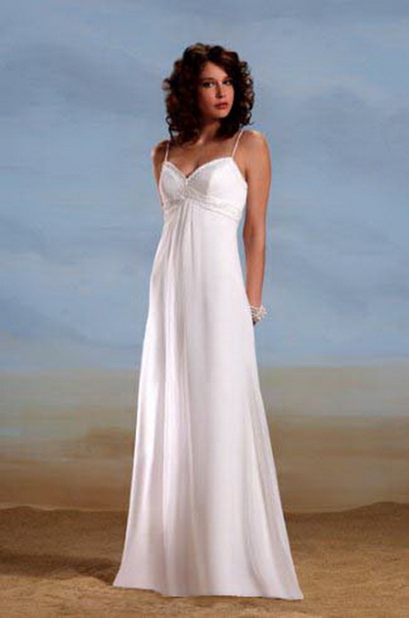 dress - Wedding Plain dresses with straps pictures video