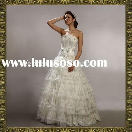 Spanish lace wedding dresses
