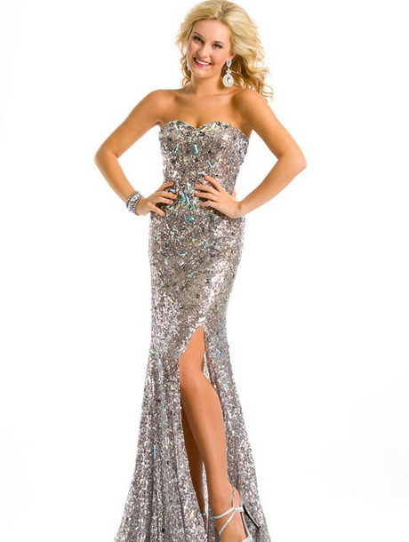 sparkly prom dresses