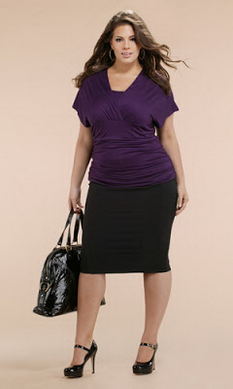 Stylish plus size clothing