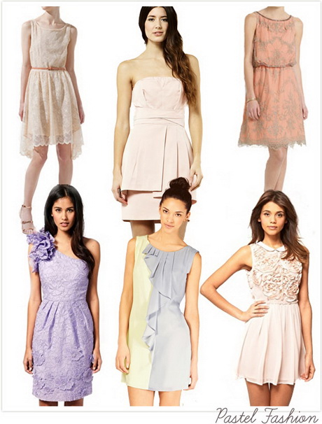 Summer dresses for wedding guests for Pastel dresses for wedding guests