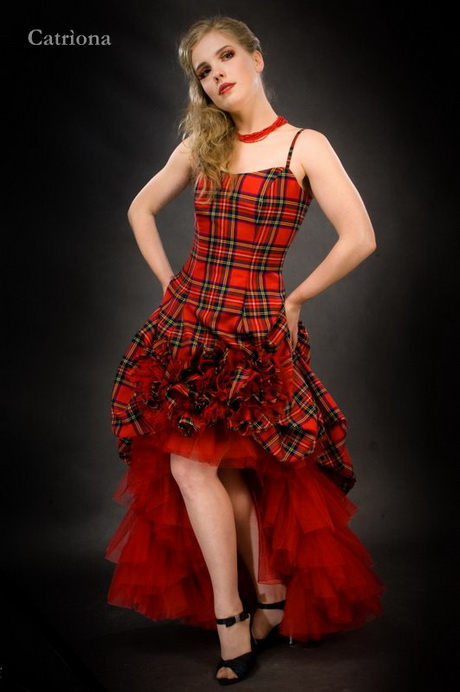 Tartan Evening Dresses