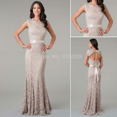 Taupe lace dress for Taupe lace wedding dress
