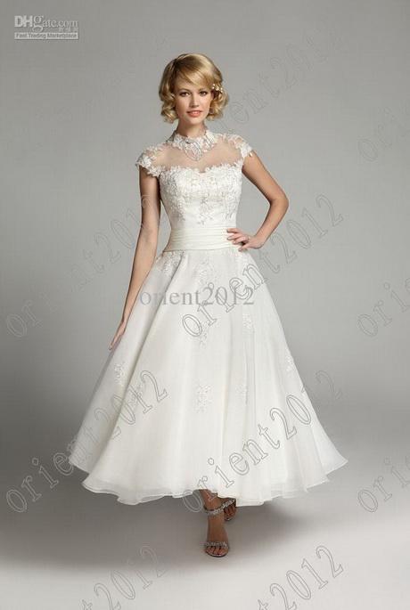 Tea length formal dresses for Elegant tea length wedding dresses