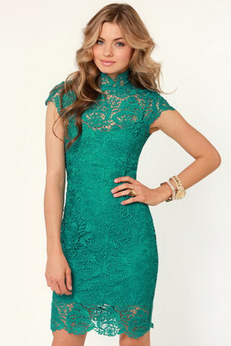 Main image for blaque label story of love teal lace dress