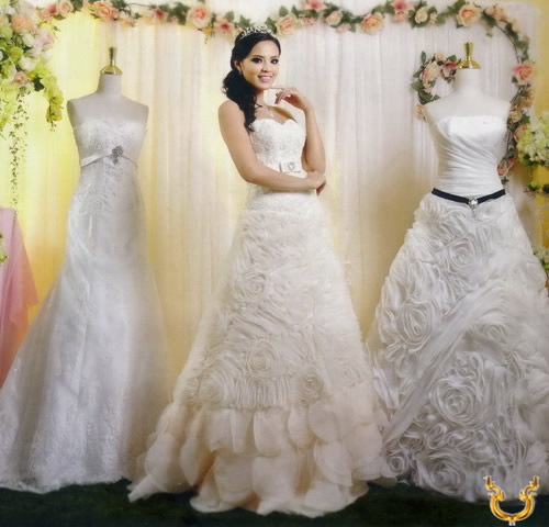 Thailand wedding dresses