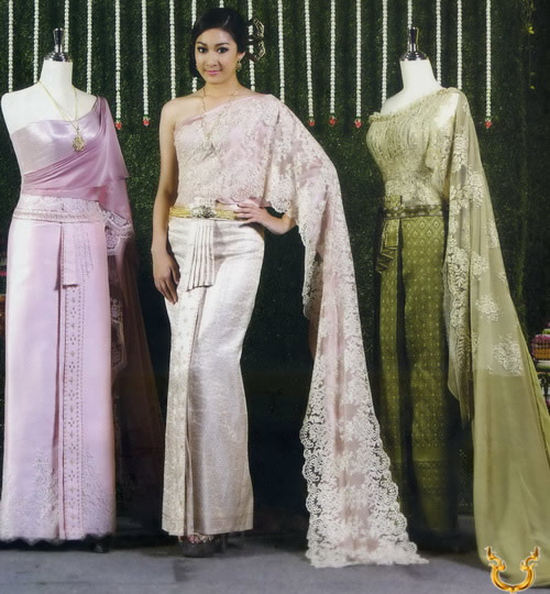 Thai traditional dresses