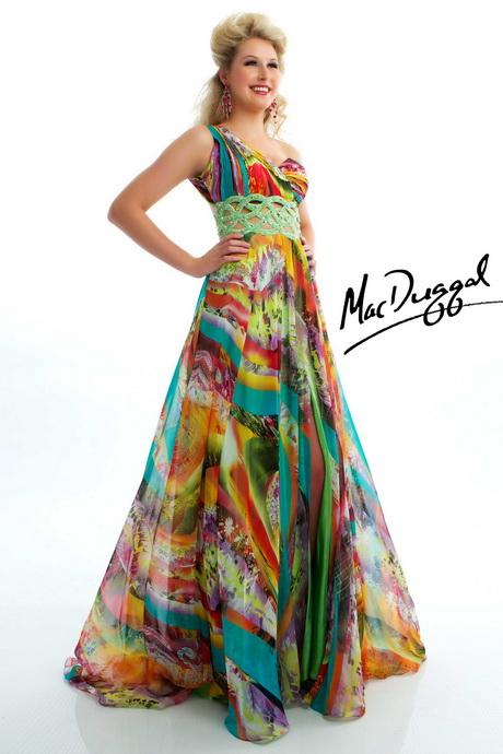 Tie dye dress prom