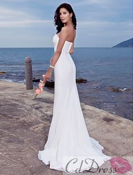 Top beach wedding dresses for Best wedding dresses for beach weddings