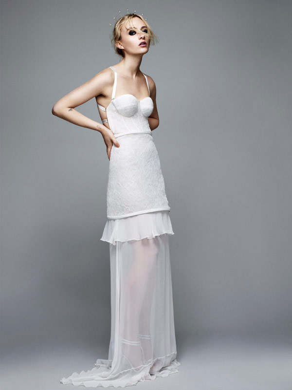 Topshop Bridal Collection - Tie the Knot - White full length dress