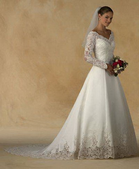 Traditional Wedding Gowns With Long Sleeves: Traditional Wedding Gowns With Sleeves
