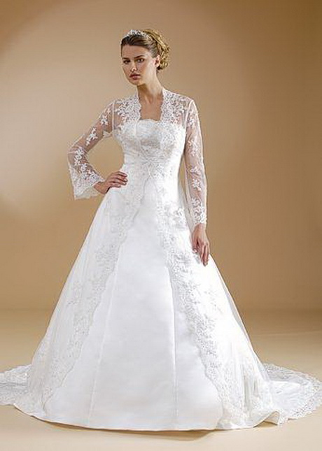 traditional wedding gowns with sleeves