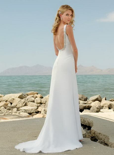 Tropical beach wedding dresses for Wedding dresses for tropical wedding