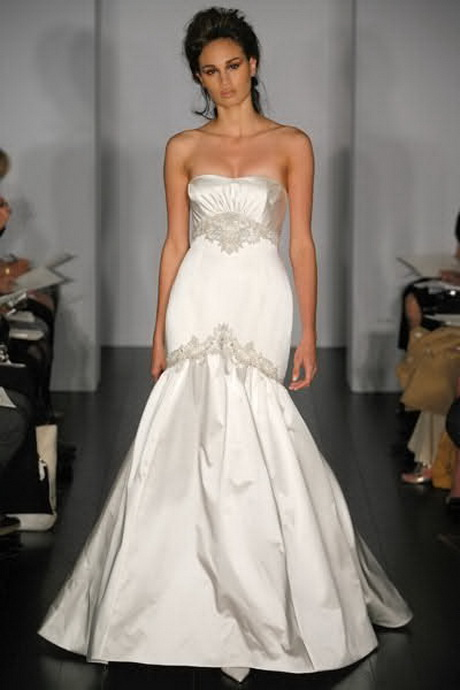 Trumpet style wedding dresses for What is a trumpet wedding dress