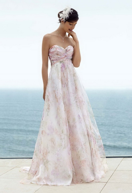 unique beach wedding dresses