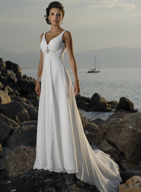 Unique beach wedding dresses for Wedding dress for beach ceremony