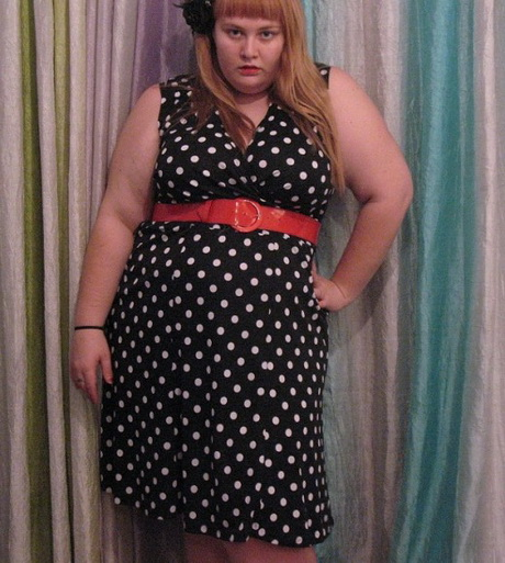dress as a urban plus size clothing can wear by young-adult plus size