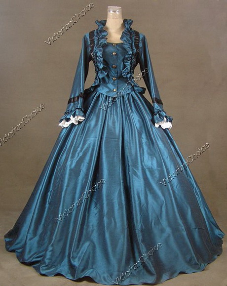 Victorian Evening Gowns